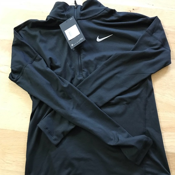 Nike Tops - Brand new with tags black nike zip